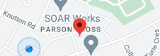 Map of The Parson Cross Community Development Forum