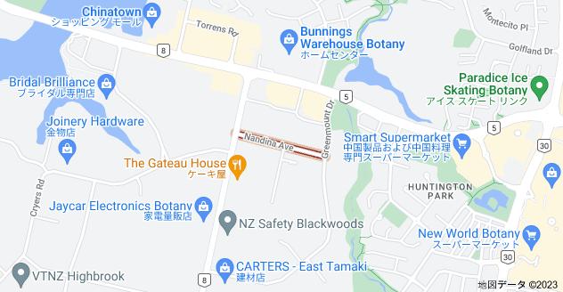 Location of ナンダイナ・アベニュー