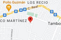 """Mapa de Hospital Municipal Tamboril Dr Jorge Armando """"Ico"""" Martinez"""