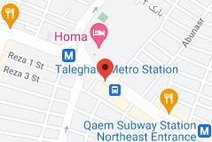 Map of Narmak Restaurant