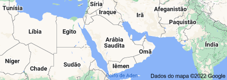 Location of Arábia Saudita
