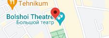 Location of Bolshoi Theatre
