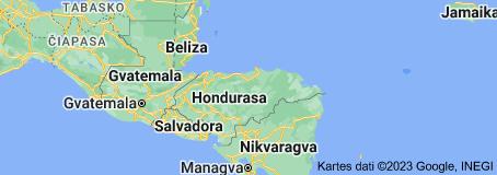 Location of Hondurasa