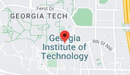 Map for Georgia Institute of Technology