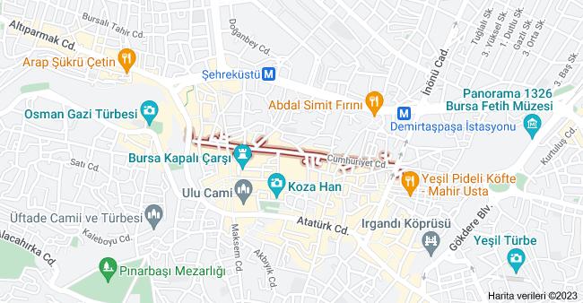 Cumhuriyet Cd., Osmangazi/Bursa haritası