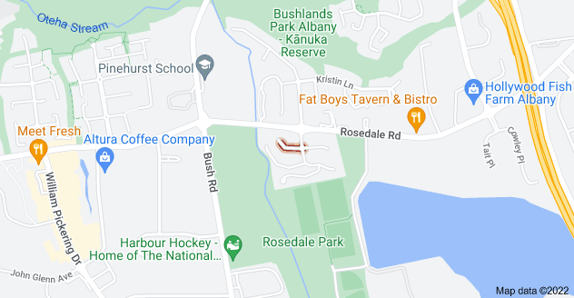 Location of Burnside Court