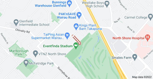 Location of Silverfield