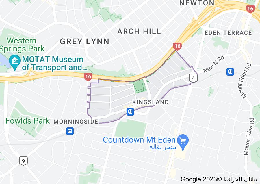 Location of Kingsland