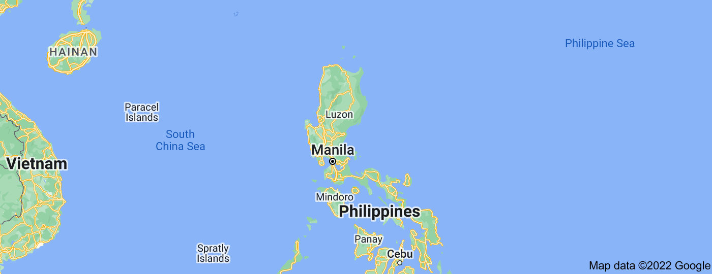 Location of Luzon