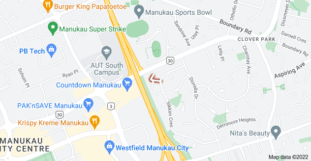 Location of Jontue Place