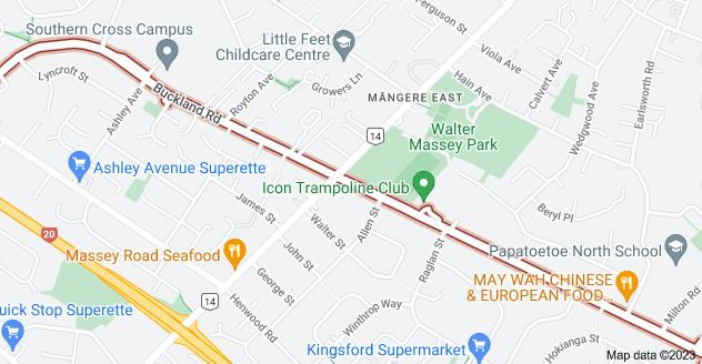 Location of Buckland Road