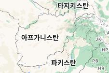Location of 아프가니스탄