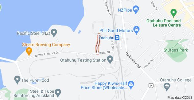 Location of Manu Street
