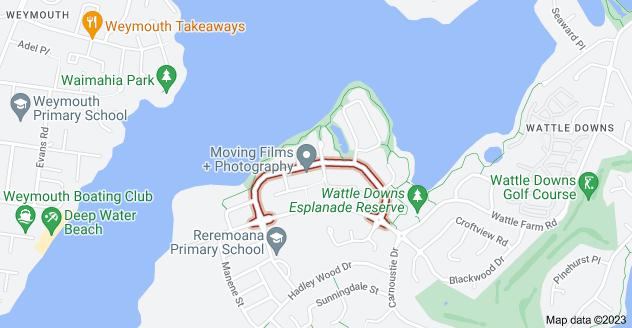 Location of Aberdeen Crescent