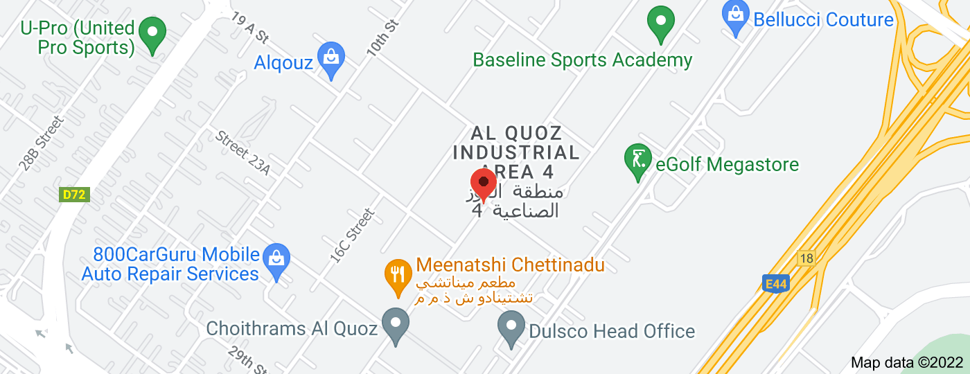 Location of Sand Dance tyres Al Qouz 4