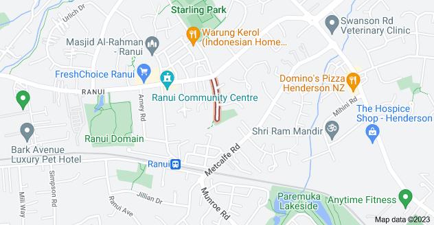 Location of Marinich Drive