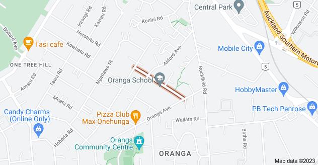 Location of Maroa Road