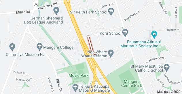 Location of Ashmore Place