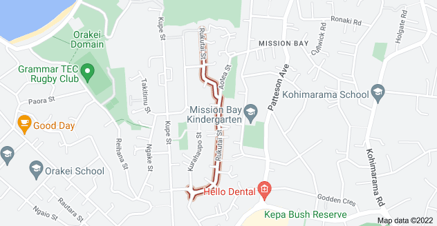 Location of Rukutai Street