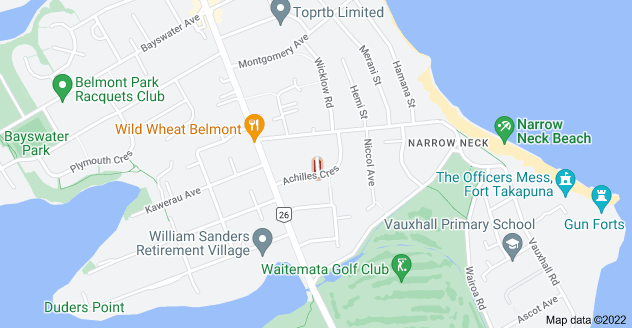 Location of Ajax Street