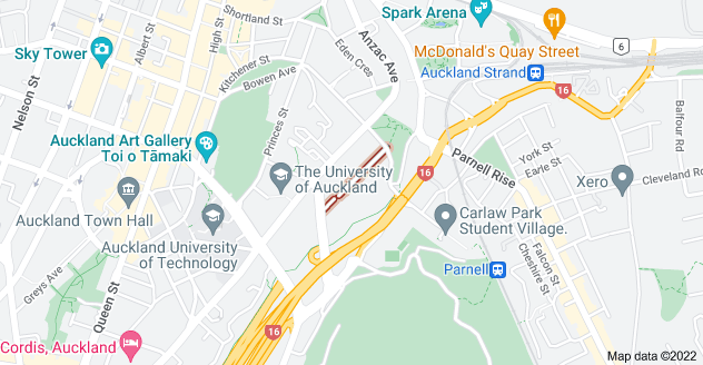Location of Wynyard Street