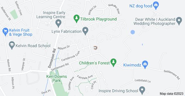 Location of Crestlands Place