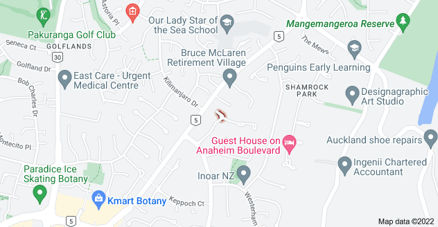 Location of Bantry Court