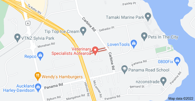 Location of Hotunui Drive