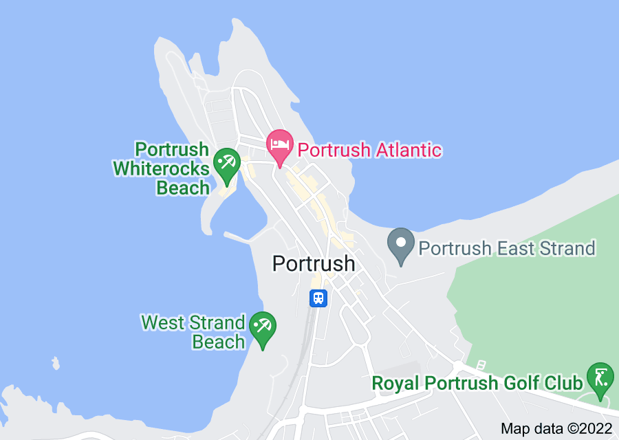 Location of Portrush