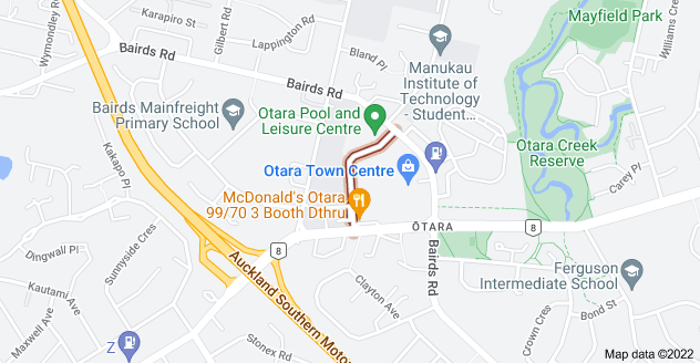 Location of Newbury Street