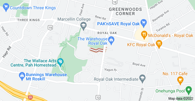 Location of Benville Place
