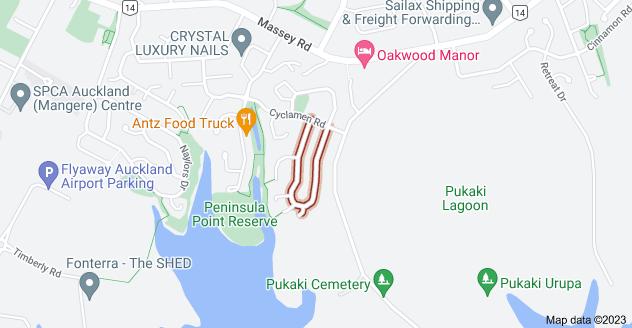 Location of Crossandra Drive