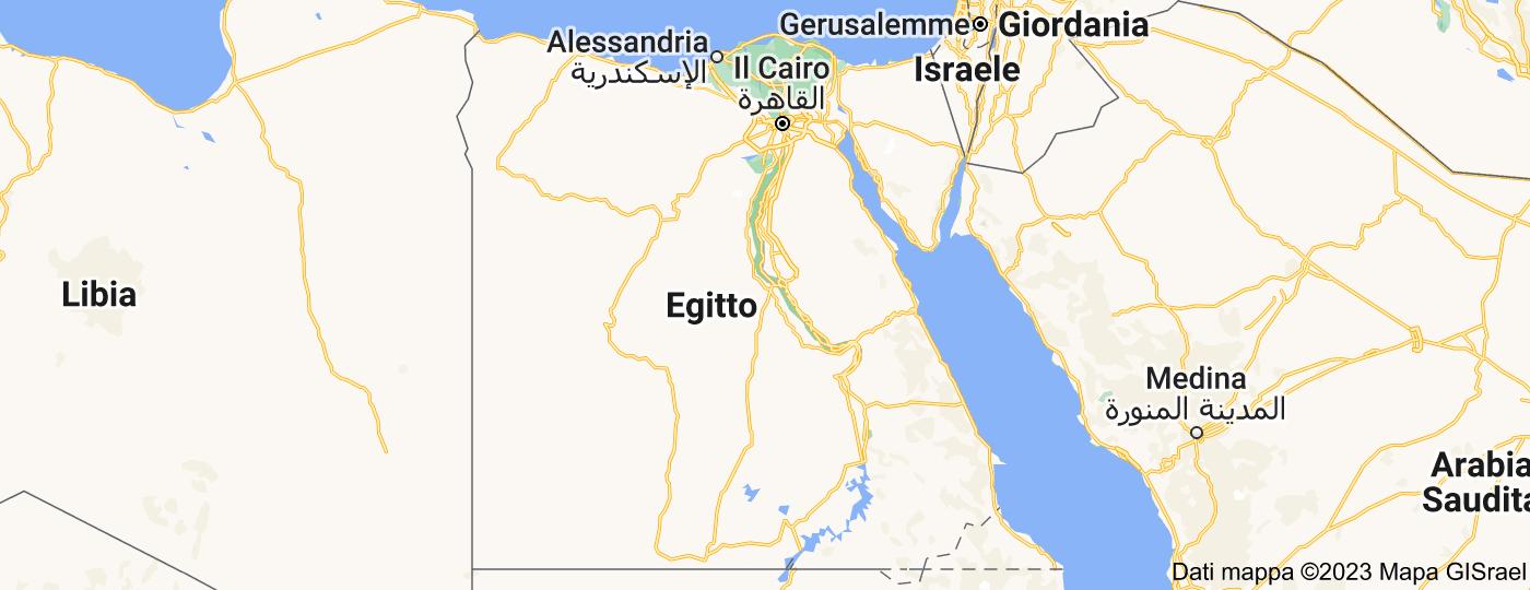 Location of Egitto