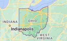 Location of Ohio