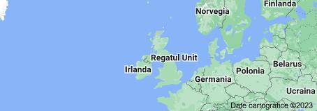 Location of Regatul Unit al Marii Britanii și al Irlandei de Nord