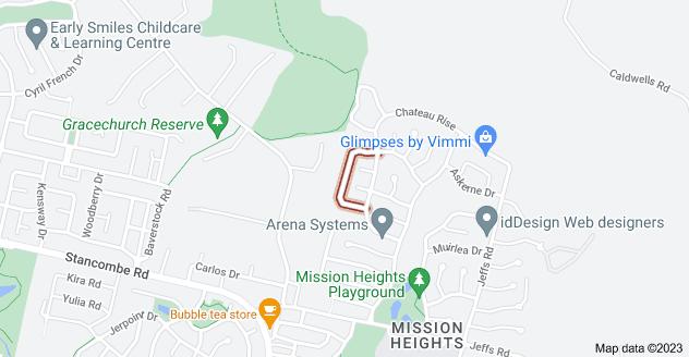 Location of Leburn Crescent