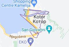 Kaart van Kotor