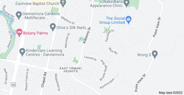 Location of Newbliss Crescent