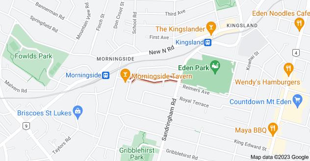 Location of Altham Avenue