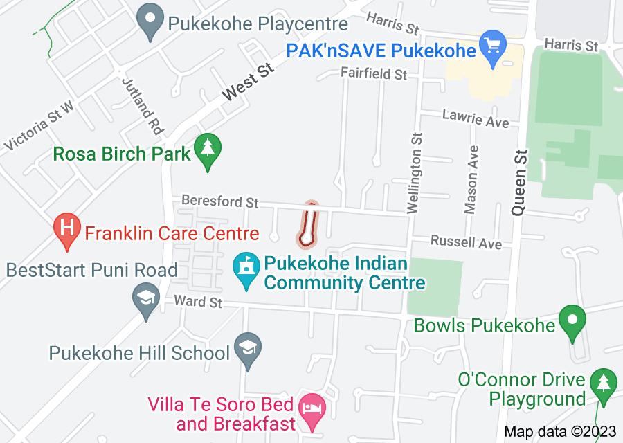 Location of Oakwood Place