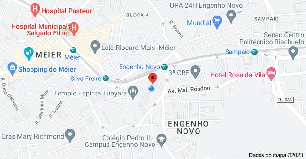 Mapa de R. Alan Kardec, 38 - Engenho Novo, Rio de Janeiro - RJ, 20710-230