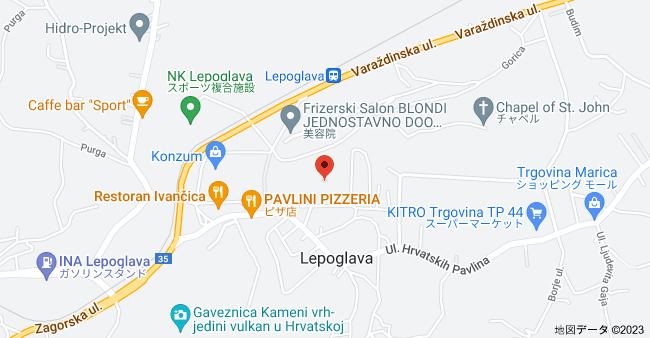 レポグラヴァ刑務所 42250, Lepoglava, クロアチアの地図