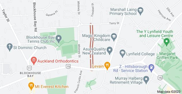 Location of Mcfadzean Drive
