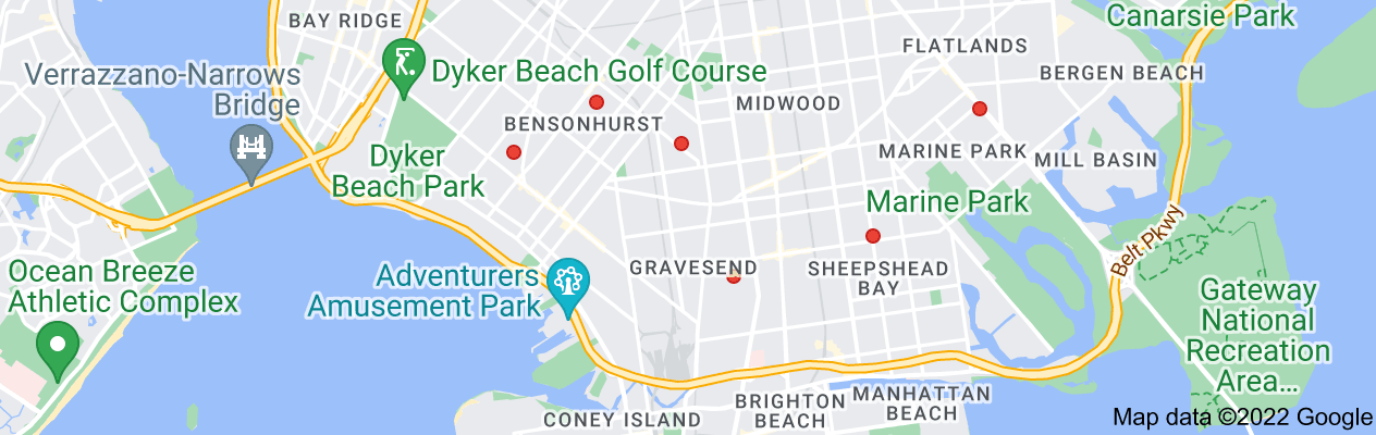 Map of exterminator brooklyn prices