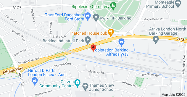 Map of Wayside Commercial Estate, Alfreds Way, Barking IG11 0AQ