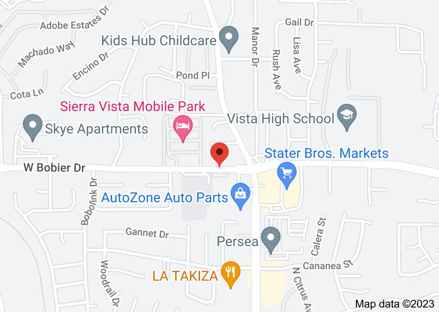 Location of Bobier Dr & N Santa Fe Av