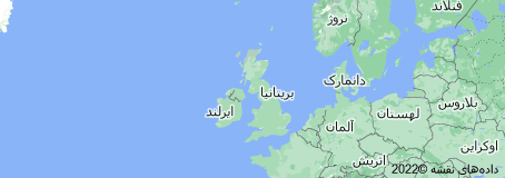 Location of بریتانیا