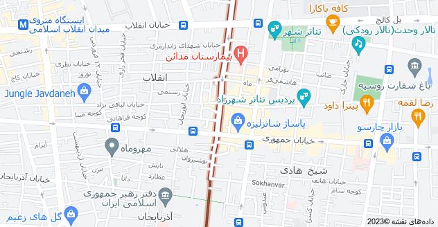 اجاره آپارتمان مبله در انقلاب فلسطین تهران