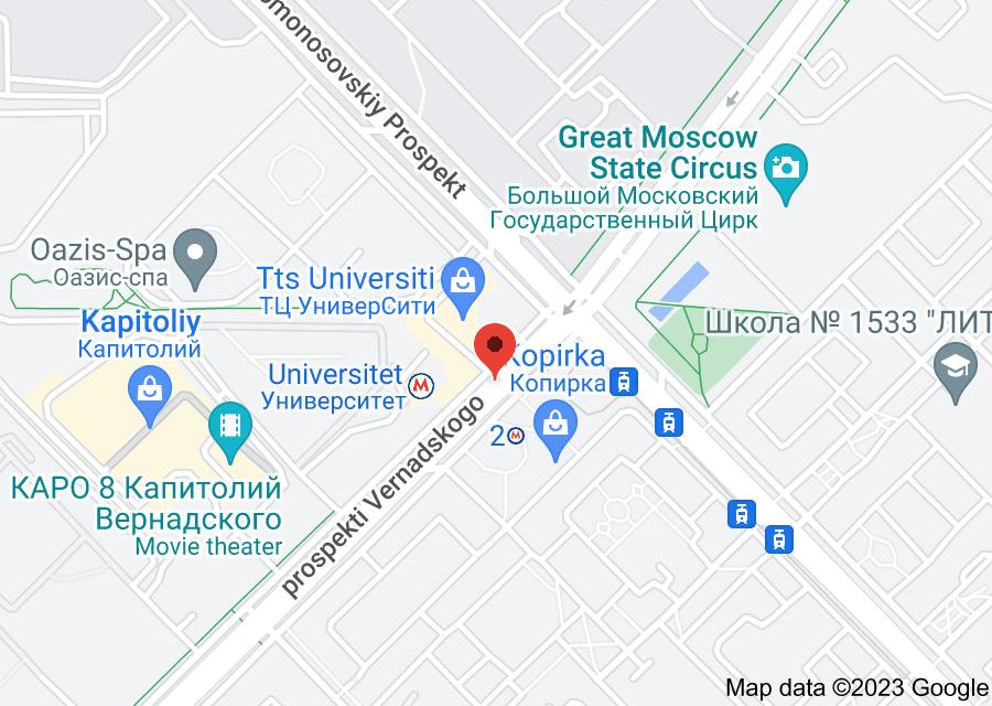 Location of Universitet