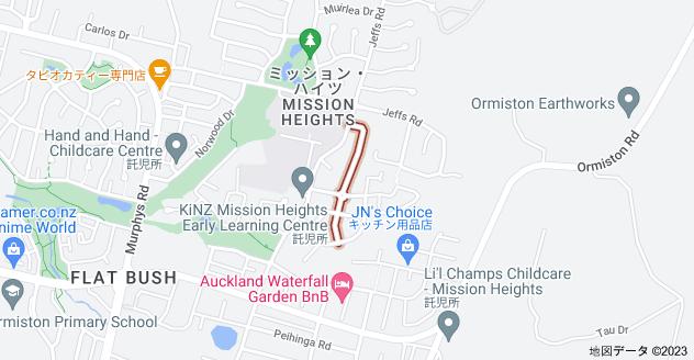 Location of アマレット・アベニュー